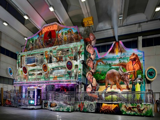 Gosetto Dinosaurs Fun House, 4 levels
