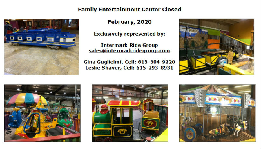 FEC Closed - Rides For Sale