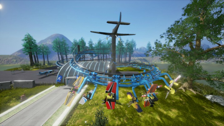 Air Loop Roller Coaster - Ride Engineers Switzerland - WillTec