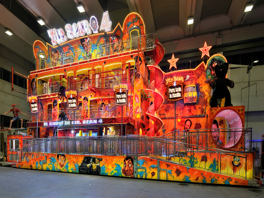 Gosetto Mr Bean Fun House, 4 levels
