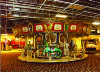 Chance Carousel, used indoors