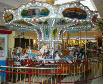Carousel, Gameart, 30' diameter, seats 24