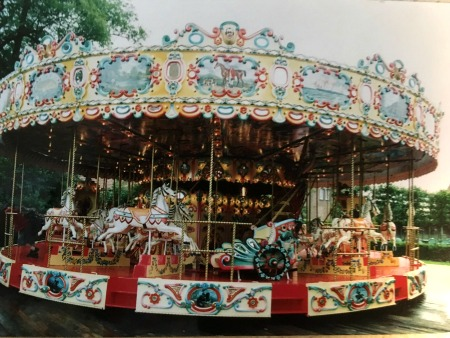 Devos Heyn Antique Carousel For Sale