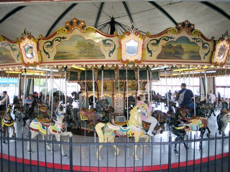 Philadelphia Toboggan Company Antique Carousel For Sale