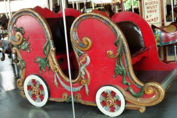 PTC #72 Rare Antique Carousel For Sale