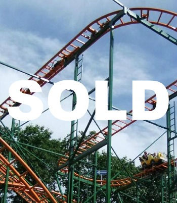Wild Mouse Roller Coaster For Sale
