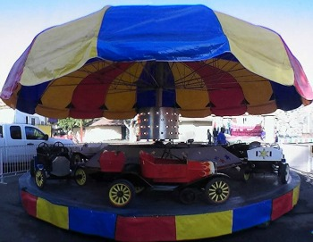 San Antonio Roller Works Kiddie Antique Cars Ride