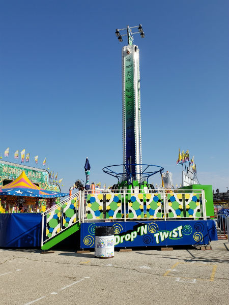 Drop N Twist Tower