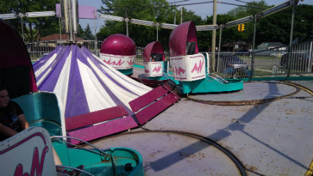 Sellner Tilt A Whirl, Electric 7
