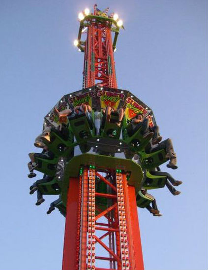 ARM Super Shot Drop Tower For Sale