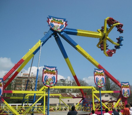 Extreme amusement ride for sale