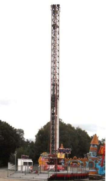 Mega Drop Tower, Fabbri