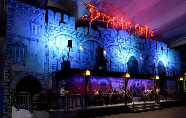 Gosetto Dracula's Castle Dark Ride