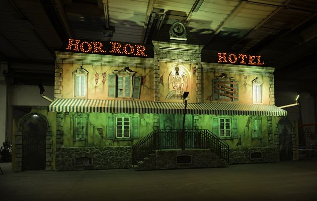 Gosetto Horror Hotel Fun House